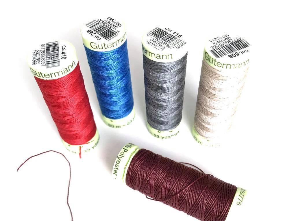 Κλωστή ραψίματος Guterman 4506 30m 100% polyester