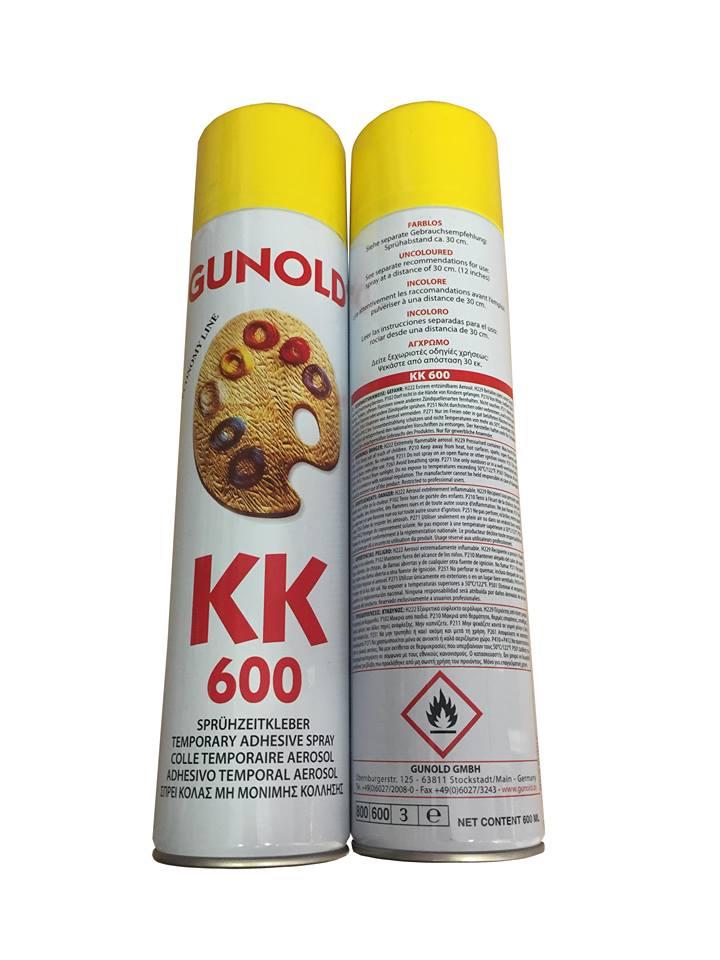 Σπρέι Κόλλας GUNOLD KK 600
