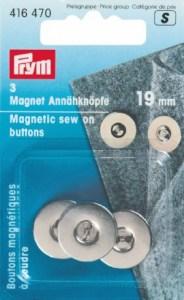 Κουμπιά Μαγνητικά Prym 416470